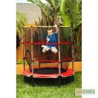 Детский Батут с защитной сеткой для дома и улицы