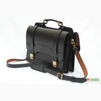 Кожаный портфель СПС-3 , ручная работа
