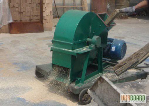Измельчение древесины в домашних условиях