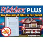 Электро-магнитный отпугиватель тараканов грызунов носекомых Ридекс Плюс Riddex Plus Pest R