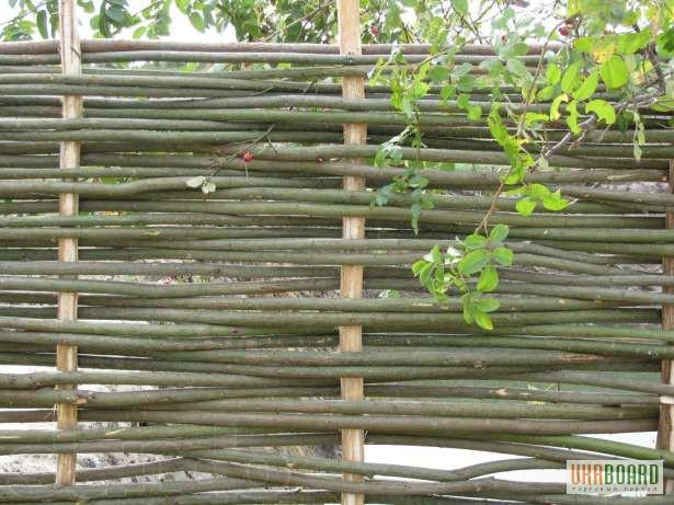Как сделать забор из прутьев своими 762