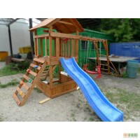 Детские площадки для улицы из дерева Малыш - 3