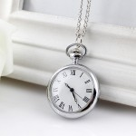 Часы массивная подвеска модный кулон с ажурной крышкой
