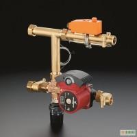 Монтаж, обвязка трехходового смесительного клапана