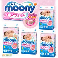 Японские подгузники Moony Муни! Лучшие цены трусики