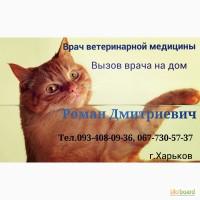 Ветеринар на дом О67-7ЗО-57-З7. Харьков