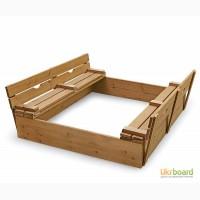 Детская песочница для детской площадки (pes 3)