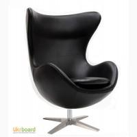 Кресло EGG (ЭГГ) кожзам, дизайнерское кресло Яйцо кожзам купить Киев Украина