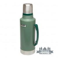 Термос Stanley Classic Vacuum Bottle 1, 9L - Hammertone Green
