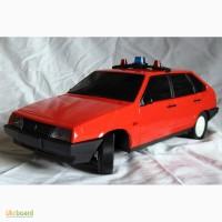 Машинка Лада Самара 1500, моделька ВАЗ-2109, Электроприбор, в хорошем состоянии