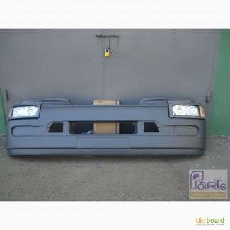 Бампер передний Renault Premium в сборе с фарами (Без ПТФ)