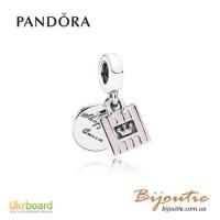 Оригинал PANDORA шарм королева шопинга 791985EN40