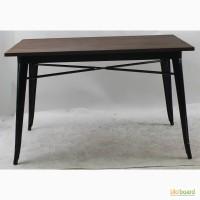 Стол Толикс Вуд Прямоугольный, 120*70 (Tolix Wood Rectangular, 120*70) из металла купить