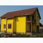 Проект Скандинавский 200 м.кв. каркасный дом из сип панелей от производителя Харьков