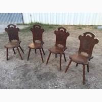 Антикварные дубовые стулья