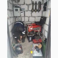Блок управления воздушной заслонки генератора, соленоид