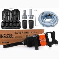 Гайковерт пневматичний BJC-788 1 4800N/m + 12 насадок (Новий)