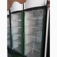 Продам шкафы холодильные б/у стекло и глухие