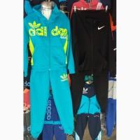Спортивные подростковые костюмы для девочек и мальчиков, размеры 40-46 опт и розница-S1978