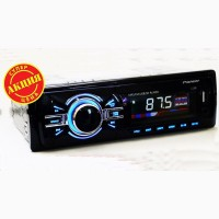 Автомагнитола Pioneer 1148 ISO - MP3+Usb+Sd+Fm+Aux+ пульт (4x50W)