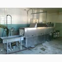 Тоннельная посудомоечная машина бу