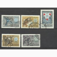 Продам марки СССР (Олимпиада68)