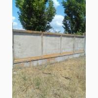Плиты заборные, канальные плиты 6*2 метра