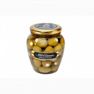Маслины зеленные фаршированные сыром «Фета» 0, 72 л