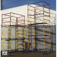 Вышка строительная тура Размер площадки 1, 2х2 м. Этажность 3+1