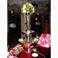 Арендовать фонтан для напитков на свадьбу в Киеве