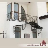 Кованый балкон. Балконные ограждения. купить заказать