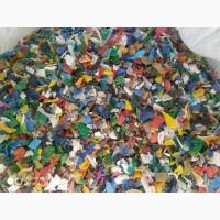 Дробленый пластик