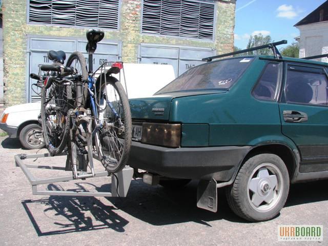 Крепление для перевозки велосипедов своими руками