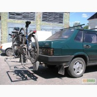 Перевозка велосипедов на фаркопе авто.