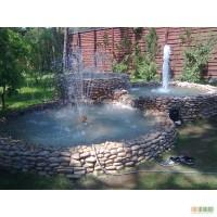 Строительство бассейнов, фонтанов, водоемов