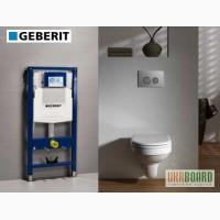 Инсталляция для унитаза Geberit (Швейцария) 458.161.21.1 4в1
