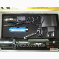 Электрошокер 1102 - шокер фонарик BAILONG 20000 kv