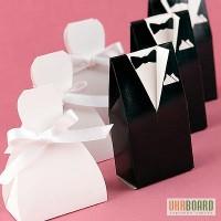 Бонбоньерки жених и невеста