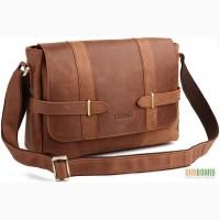 96ac2b216d41 Продается кожаная сумка на плечо, мессенджер из натуральной лошадиной кожи
