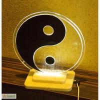 Продам интерьерный светильник Инь Янь с led подсветкой