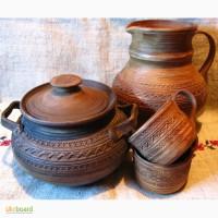 Наборы глиняной посуды