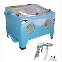 Камеры дробеструйные аппараты кабинеты пескоструйные также б/у Clemco Contracor King