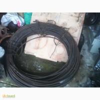 Трос стальной мягкий с орг сердечником д 9, 5 мм. 12мм Бухты-от 50 до 250м Канат советский