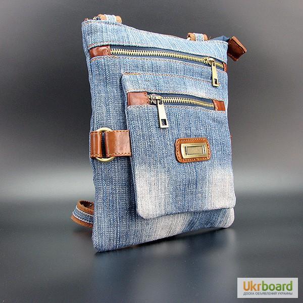Сумочка джинсовая для телефона