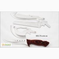 Продам.Нож со сменным лезвиями, туристический набор 4 в 1 (Travel SET 4 in 1)