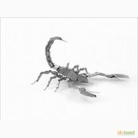 3D пазл металлический Скорпион