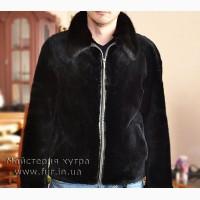 Мужская куртка, мех бобер