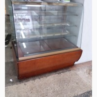 Витрина холодильная кондитерская б/у 1.2 метра Juka