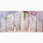 Ширма резная, арка, свадебный декор, резной задник