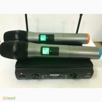 Радиомикрофоны Shure-44 2-микрофона